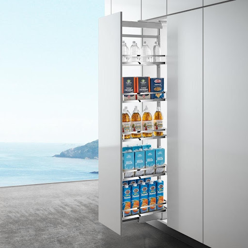 The Various Types Of Tall Pantry Shelf Designs That You Should Get For Your Kitchens!